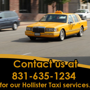 Hollister, CA Taxi Service (Yellow Cab Company)